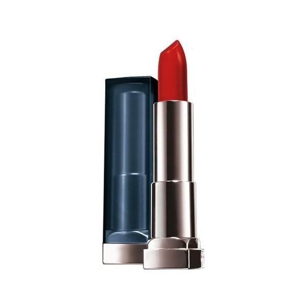 965 Sirena En Escarlata el lápiz labial Rojo MATE, Maybelline Color Sensacional Gemey Maybelline 9,60 €