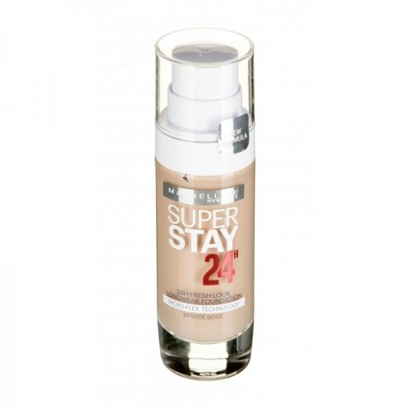 21 Golden Beige ( Nude ) - foundation SuperStay 24H from Maybelline New York