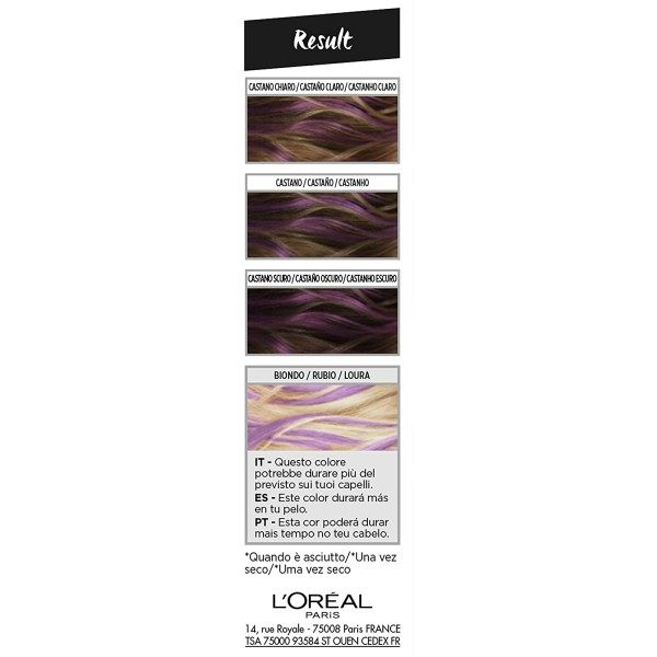 PlumHair (Violet) - Colorista Hair Makeup Temporary Coloring by L'Oréal Paris L'Oréal 3,99 €