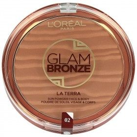 02 Capri Naturale - La Terra Sun Glam Bronze Powder Face and Body di L'Oréal Paris L'Oréal 8,99 €