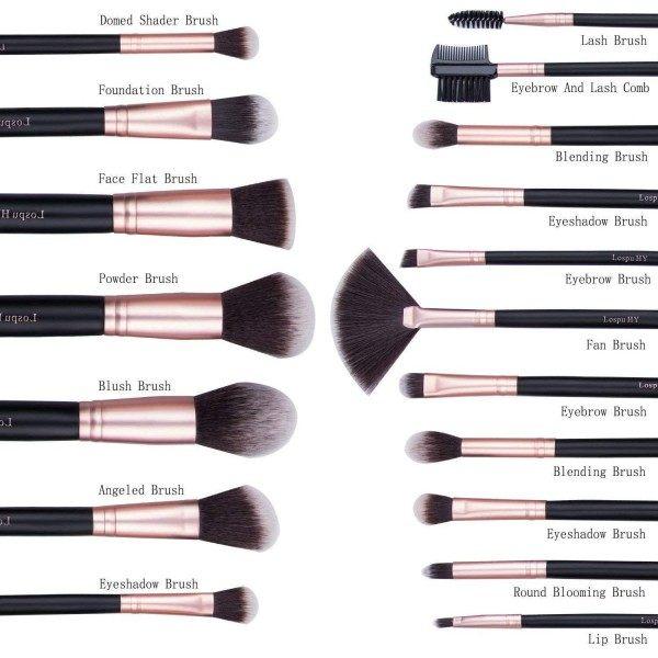 I Feel Happiness 18 Set de brochas de maquillaje 14,99 €