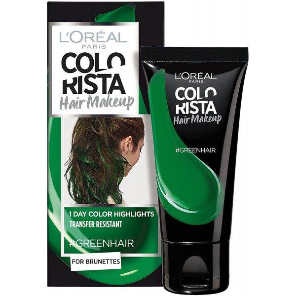 GreenHair - Coloration Éphémère Colorista Hair Makeup de L'Oréal Paris L'Oréal 2,99€