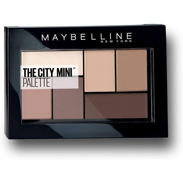 480 Matte About Town - The City Mini Oogschaduwpalet Maybelline New York Maybelline € 5,99