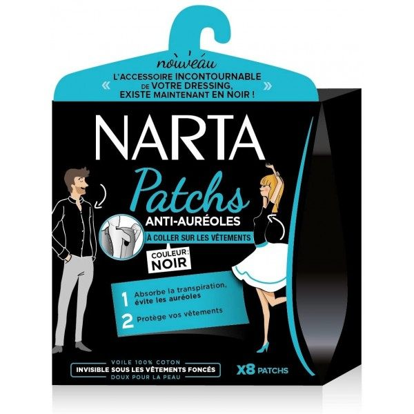 Pack of 8 NARTA anti-halo patches Je Sens le Bonheur 3,99 €