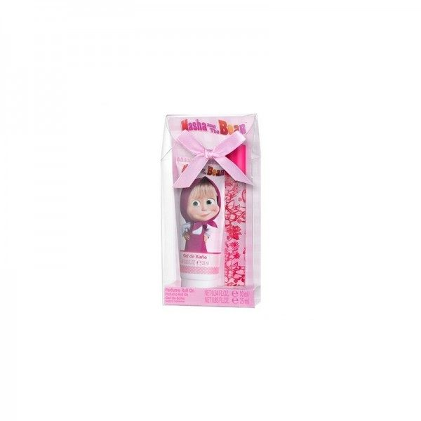 Conjunt de perfums infantils (Eau de Toilette) Roll-On 10ml + Gel de dutxa 25ml MASHA & MISKA Masha & Miska 3,99 €
