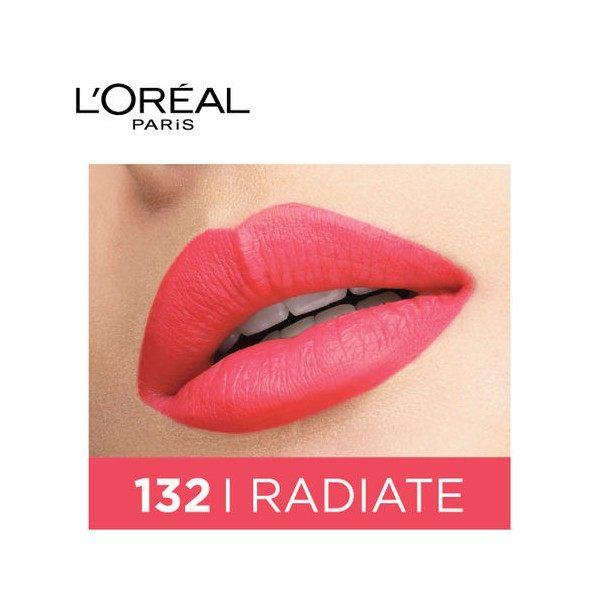 132 I Radiate - Rouge Signature Encre à Lèvres Liquide Mate de L'Oréal Paris L'Oréal 5,99€
