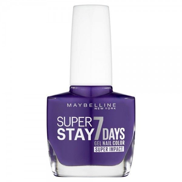 887 All Day Plum - Vernis à Ongles Strong & Pro / SuperStay Gemey Maybelline Maybelline 2,49€
