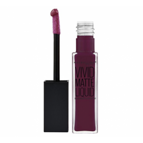 45 Possessed Plum - Rouge à lèvre Vivid Matte Liquid Gemey Maybelline Gemey Maybelline 10,90€