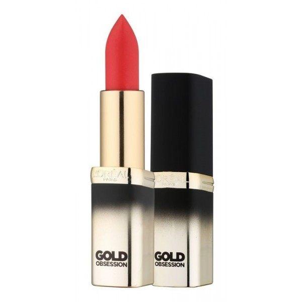 Red Gold - els Llavis de Vermell Color Nou Col·lecció Exclusiva GoldObsession L'oréal l'oréal L'oréal 17,90 €