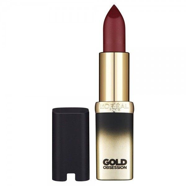 Plum Gold - Rouge à Lèvres Color Riche Collection Exclusive GoldObsession de L'Oréal L'Oréal 2,64€