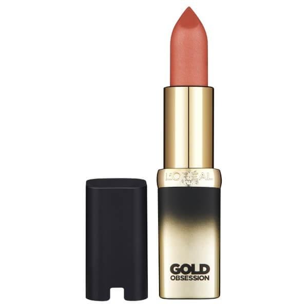 Desnudo - Oro lápiz de labios Color Riche de la Colección Exclusiva GoldObsession L'oréal l'oréal L'oréal 17,90 €