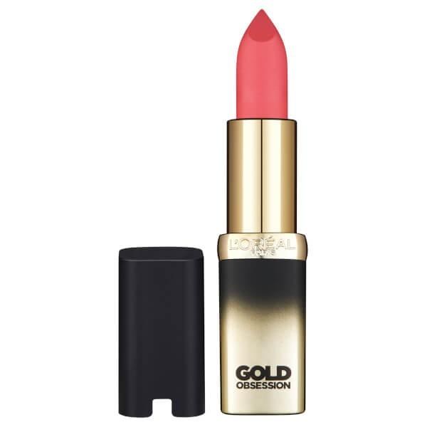 Rosa de Ouro Cor de Batom Riche Colección Exclusiva GoldObsession L 'oréal l' oréal L ' oréal 17,90 €