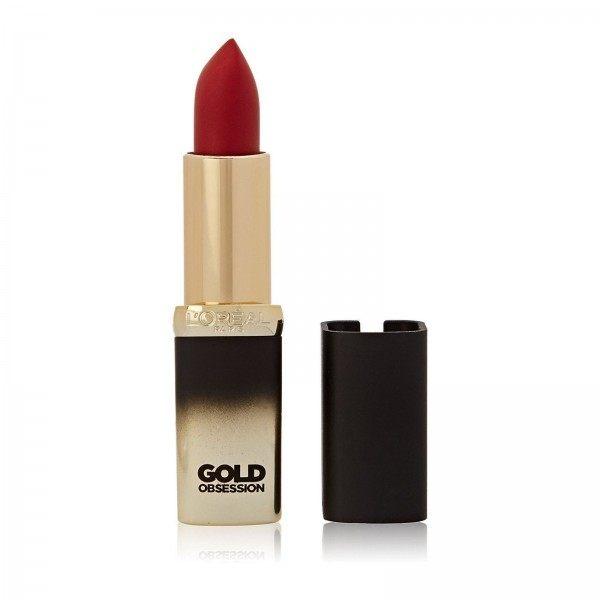 Ruby Ouro Cor de Batom Riche Colección Exclusiva GoldObsession L 'oréal l' oréal L ' oréal 17,90 €