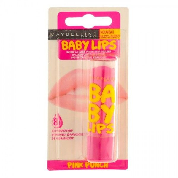 Pink Punch - Baume à lèvres Hydratant Baby Lips Gemey Maybelline Gemey Maybelline 2,99 €