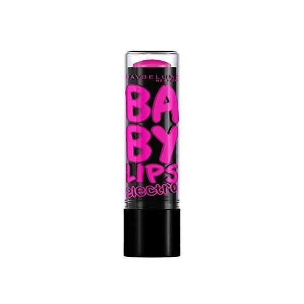 Pink Shock - Lippenbalsam-der Feuchtigkeitsspendende Electro Baby Lips presse / pressemitteilungen Maybelline presse /