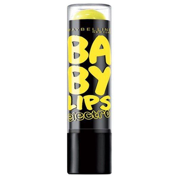 Fierce N Tangy - Lippenbalsam-der Feuchtigkeitsspendende Electro Baby Lips presse / pressemitteilungen Maybelline presse /