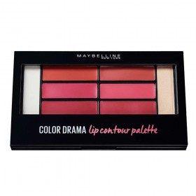 Blushed Bomba - Paleta de Contorn de Llavis de Color Drama LIP CONTOUR PALETA Gemey Maybelline Gemey Maybelline 17,99 €