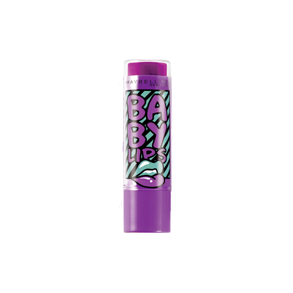 Blueberry Boom - Baume à lèvres Hydratant Electro Baby Lips Gemey Maybelline Maybelline 1,99€