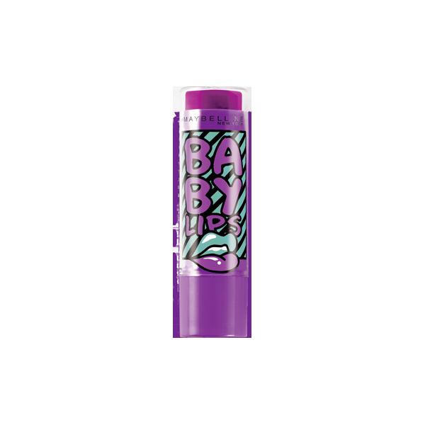 Blueberry Boom - Lippenbalsam-der Feuchtigkeitsspendende Electro Baby Lips presse / pressemitteilungen Maybelline presse /