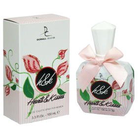 Hearts & Kisses - Fragrance Generic - Eau de Toilette Woman 100ml Dorall Collection 8,99 €