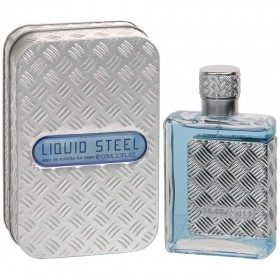 Liquid Steel - Perfume generic Man Eau de Toilette 100ml Linn young 12,99 €