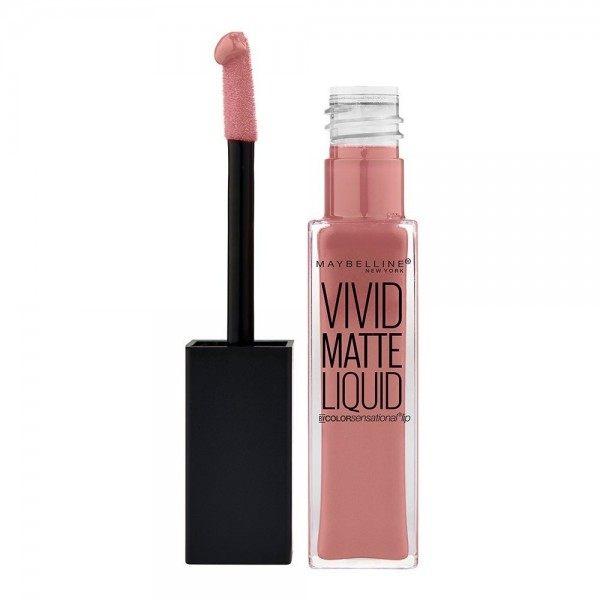 50 Nude Thrill - Rouge à lèvre Vivid Matte Liquid Gemey Maybelline Maybelline 2,49€