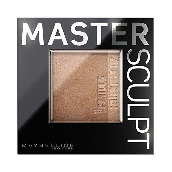 02 Medium Dark - Palette de Contouring Master Sculpt Gemey Maybelline Maybelline 5,99€