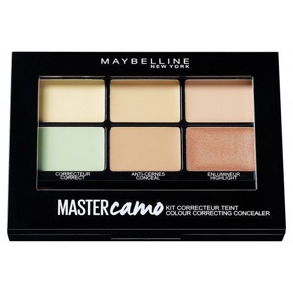 01 Claire / Light - Master Camo Kit Correcteur Teint Gemey Maybelline Maybelline 5,99 €