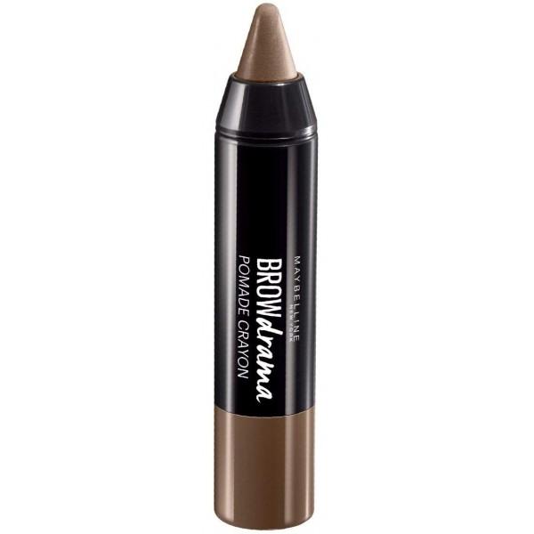 Medium Brown - Cire à Sourcils Crayon Brow Drama Pomade Gemey Maybelline Gemey Maybelline 3,99€