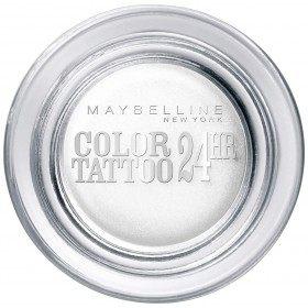 45 Infinite White - Color Tattoo 24h Gel Ombre à Paupières en Crème Gemey Maybelline Maybelline 4,49€