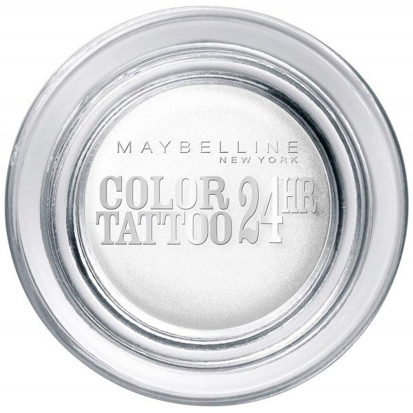 45 Infinite White - Color Tattoo 24h Gel Ombre à Paupières en Crème Gemey Maybelline Maybelline 3,99€