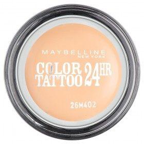 93 Crema-Desnudo - de Color Tattoo 24h Gel de Sombra de ojos Crema Gemey Maybelline Gemey Maybelline 12,90 €