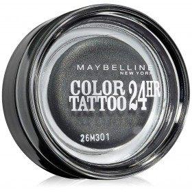 55 Immortal Charcoal - Color Tattoo 24h Gel Ombre à Paupières en Crème Gemey Maybelline Gemey Maybelline 12,90€