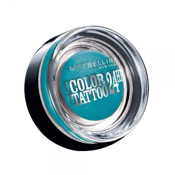20 Turquoise Forever - Color Tattoo 24h Gel Ombre à Paupières en Crème Gemey Maybelline Maybelline 2,49€
