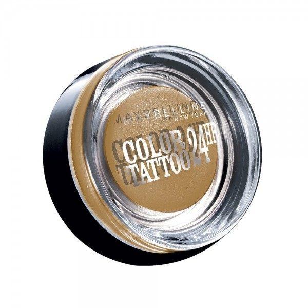 05 Eternal Gold - Color Tattoo 24h Gel Ombre à Paupières en Crème Gemey Maybelline Maybelline 2,49€
