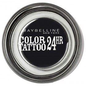60 Atemporal Negro - Cor Tatuaxe 24 horas Xel Sombra do ollo Crema Gemey Maybelline Gemey Maybelline 12,90 €