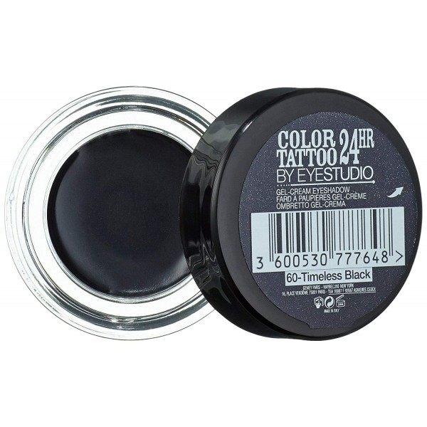 60 Timeless Black - Colour Tattoo 24hr Gel eye Shadow Cream Gemey Maybelline Gemey Maybelline 12,90 €