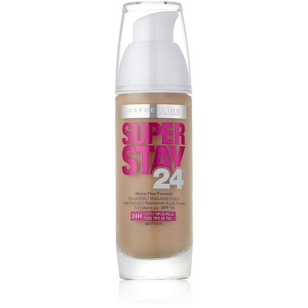 040 Fawn / Canelle - Fond de Teint Fluide Superstay 24H de Gemey Maybelline Gemey Maybelline 13,90€