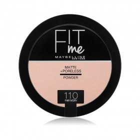 110 Fair Ivory - Poudre Compacte FIT ME ! Matte + Poreless de Maybelline New york Gemey Maybelline 12,99 €
