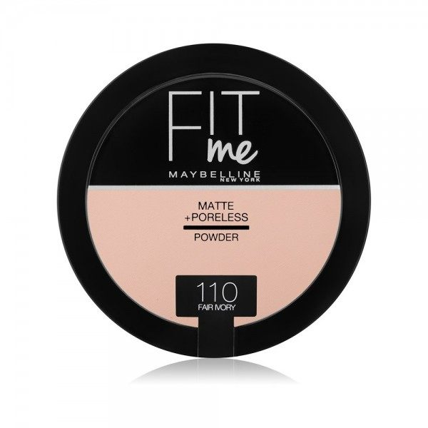 110 Fair Ivory Compact Powder FIT ME ! Matte + Poreless from Maybelline New york Gemey Maybelline 12,99 €