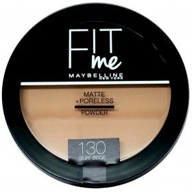 130 Buff Beige Compact Powder FIT ME ! Matte + Poreless from Maybelline New york Gemey Maybelline 12,99 €