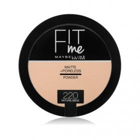 220 Natural Beige Compact Powder FIT ME ! Matte + Poreless from Maybelline New york Gemey Maybelline 12,99 €