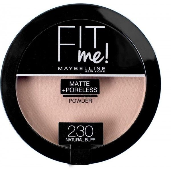 230 Natural Buff - Compact Powder FIT ME ! Matte + Poreless from Maybelline New york Gemey Maybelline 12,99 €