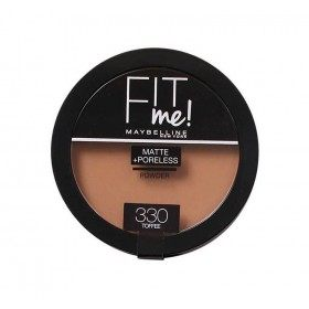 330 Toffee - Poudre Compacte FIT ME ! Matte + Poreless de Maybelline New york Gemey Maybelline 12,99€