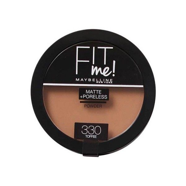 330 Toffee - Poudre Compacte FIT ME ! Matte + Poreless de Maybelline New york Gemey Maybelline 12,99 €