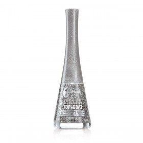 45 Glitterizer TOP COAT effect leaf-silver - Nail Polish 1 Second Texture Gel Silicone Bourjois Paris Bourjois P...