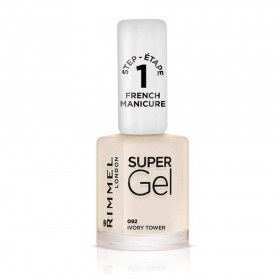 092 Ivory Tower - Nail Polish Super Gel French Manicure Rimmel London Rimmel London 12,99 €