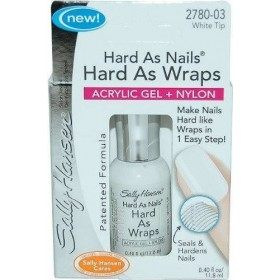2780-03 White Tip - Vernis à Ongles Acrylic GEL + Nylon Hard As Nails, Hard As Wraps Sally Hansen Sally Hansen 13,99 €