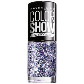02 White Splatter TOP COAT - Nail Polish Colorshow 60 Seconds of Gemey-Maybelline Gemey Maybelline 4,99 €