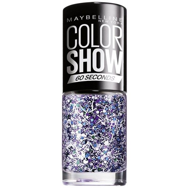 02 White Splatter TOP COAT - Vernis à Ongles Colorshow 60 Seconds de Gemey-Maybelline Maybelline 1,99€